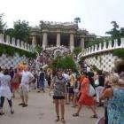 Парк Гуэль, г. Барселона, Испания, август 2012г.