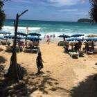 Центральный спуск на пляж Ката