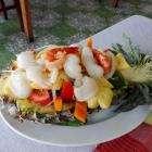 салпт с морепродуктами