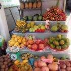 ассортимент экзотических фруктов